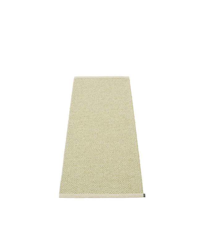 Pappelina Rug Svea | Olive metallic/ Seagrass Green