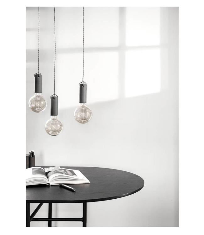 Menu Hanglamp Tied | Carbon| Donkergrijs