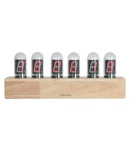 Karlsson Table Clock Cathode