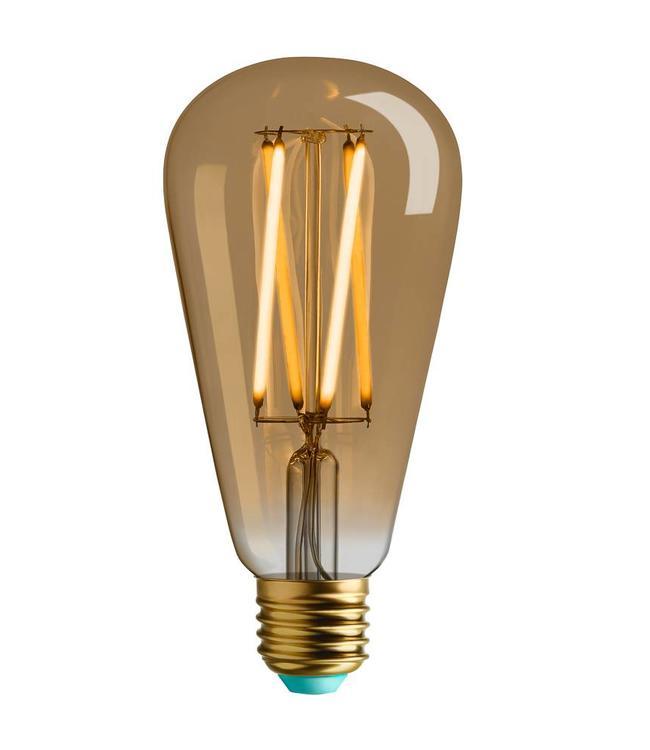 Plumen Watt Nott | Willis LED Lamp| GOLD