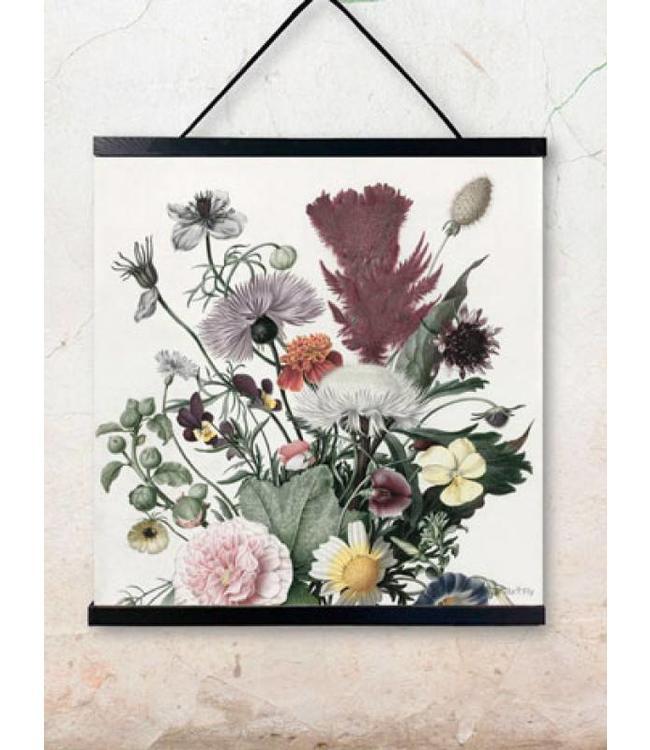 Vanilla Fly Print | Flora | 50x50