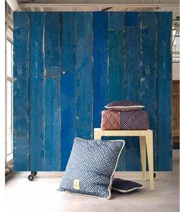 NLXL Piet Hein Eek Sloophout Behang | Blauw