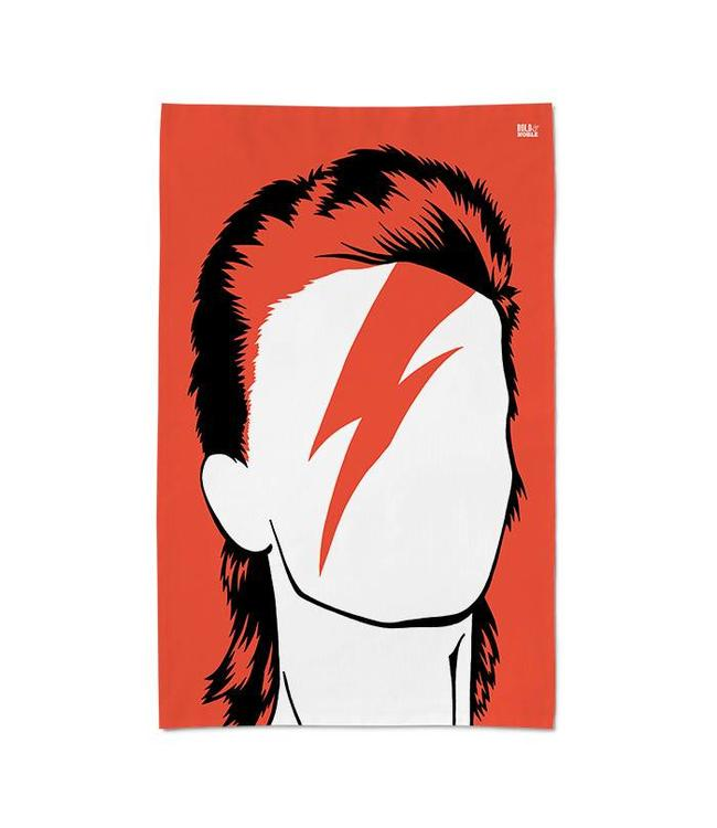 Bold & Noble Aladdin Sane Theedoek David Bowie