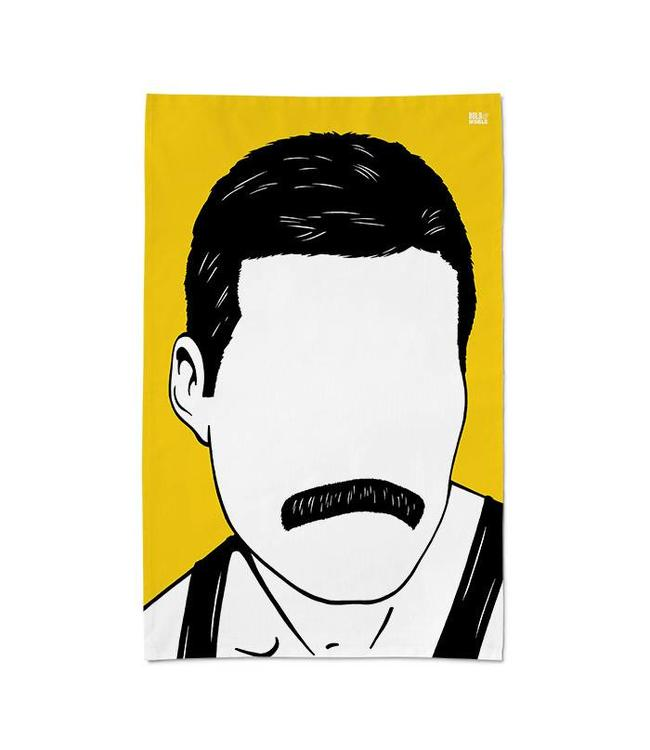 Bold & Noble Tea Towel Freddie Mercury Queen