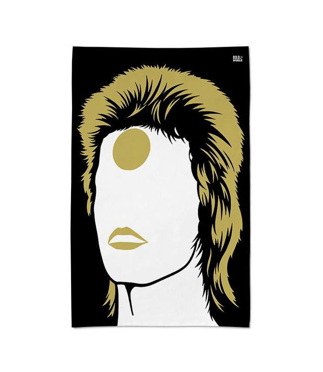 Bold & Noble Theedoek David Bowie Ziggy