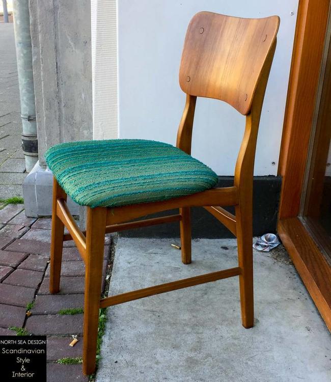 Vintage Ib Kofod Larsen Side Chair