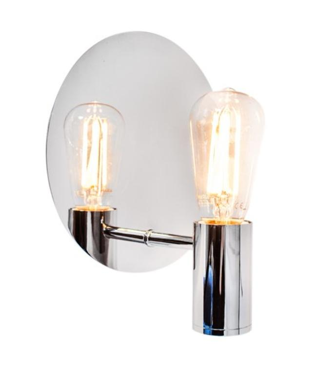 By Rydéns Gloria Wall lamp | Chrome