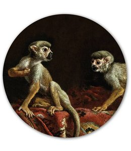 Groovy Magnets Magnet sticker Two Little Monkeys