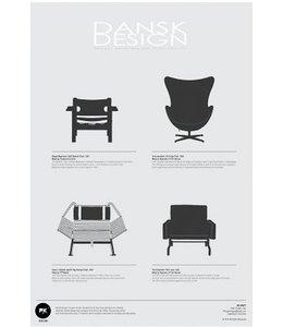 Pk Posters™ Poster Dansk Design