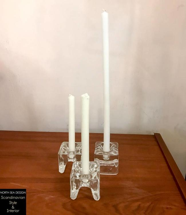 Vintage Set of 3 Candle holders