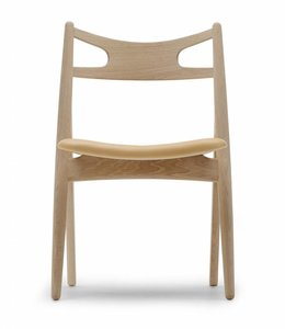 Carl Hansen & Søn CH29 Sawbuck Chair Leather