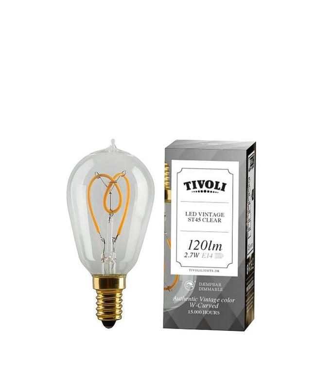 Tivoli Clear LED Lamp E14 |  ST45