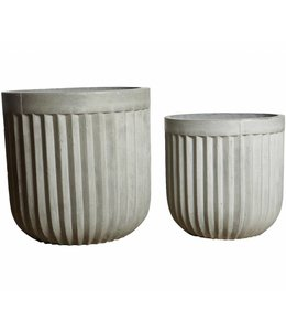 House Doctor Planter set Concrete
