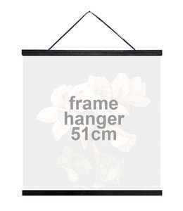 Vanilla Fly Houten Posterhanger Zwart | 51 cm