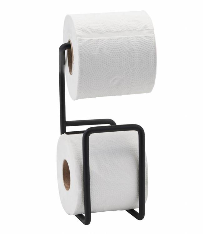 House Doctor Toiletrolhouder Via Zwart