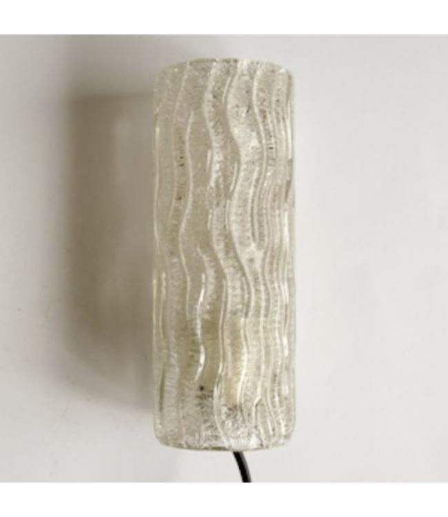 Vintage Retro Wandlamp Glas