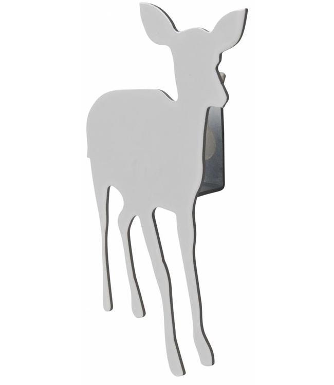 Kid deer small wall hanger white | Pluto Produkter