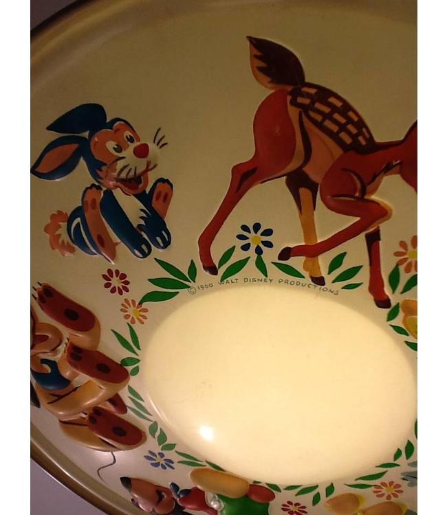 Vintage Walt Disney Kinderlamp
