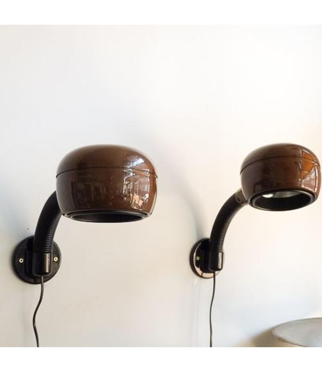 Vintage Set wandlampen Fagerhults Cobra