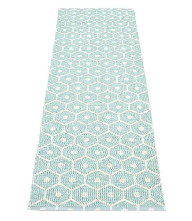 Pappelina Rug Honey Pale Turquoise