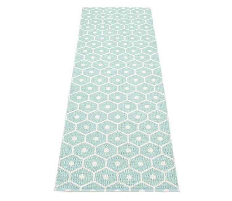 Pappelina Rug Honey Pale Turquoise North Sea Design