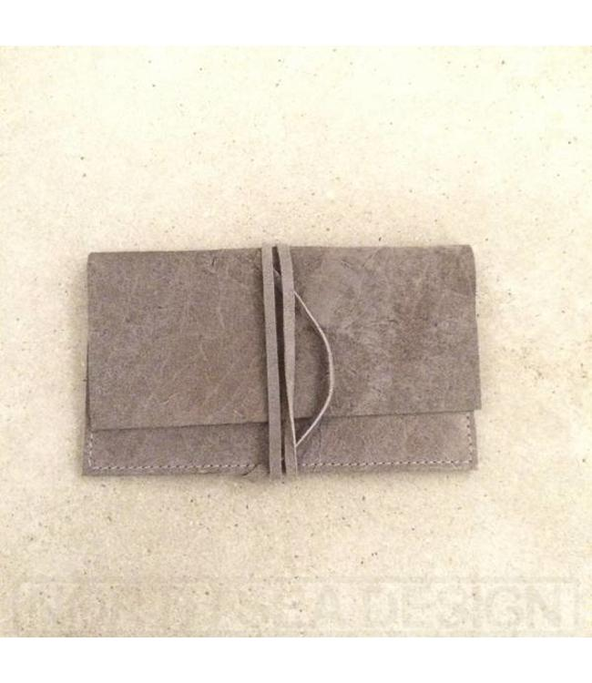 Tarra-g Leather Wallet Anthracite