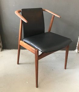 Vintage Cowhorn Chair