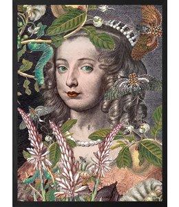 Vanilla Fly Poster Queen Fleur  | 20x25cm