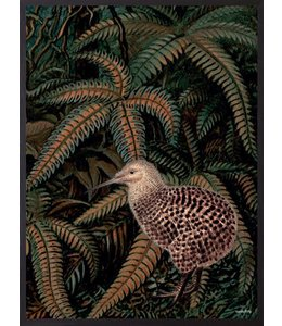 Poster Kiwi Jungle | 20x25cm