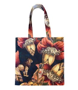Vanilla Fly Velvet Tote Bag Jungle Ape