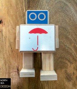 Studio Hamerhaai Rijkswachter Small | Paraplu