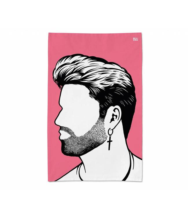 Bold & Noble Icons Tea Towel George Michael