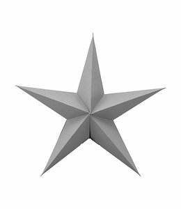 House Doctor Ornament Star | Grey