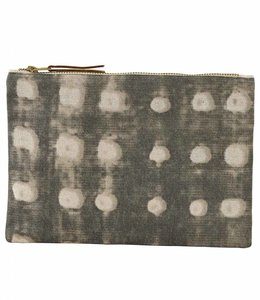 House Doctor Cosmetic Bag | Dots Grey