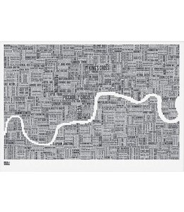 Bold & Noble Type Map London
