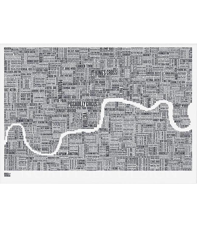 Bold & Noble Screenprint London