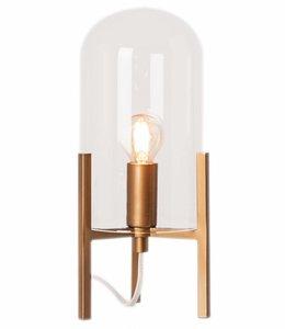Tafellamp Smokey Mat Goud