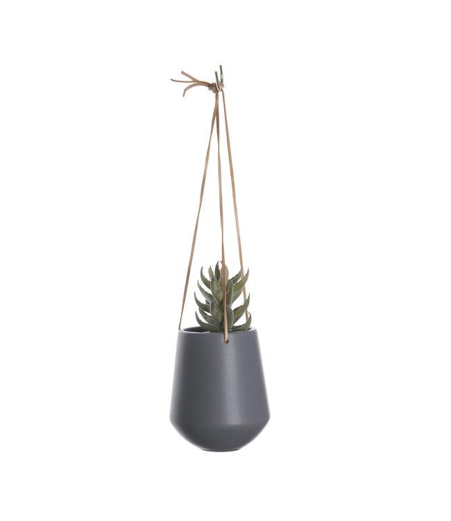 Present Time Hanging pot Large | Grey