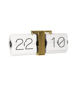 Karlsson Flip Clock No Case Brass