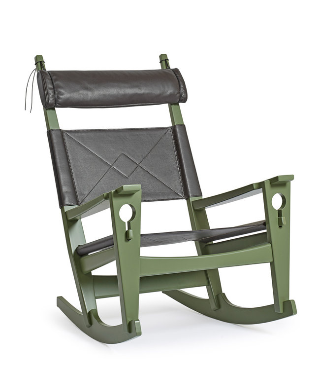 Getama Rocking Chair GE 673 | Danish Keyhole