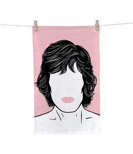 Bold & Noble Tea Towel Mick Jagger