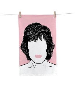 Tea Towel Mick Jagger