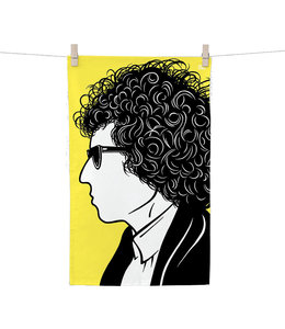 Bold & Noble Tea Towel Bob Dylan