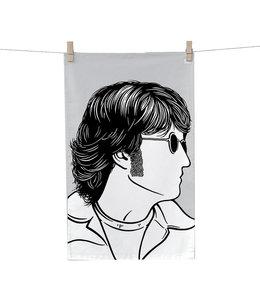 Bold & Noble Theedoek John Lennon