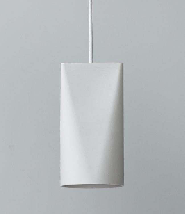 Moebe Ceramic Pendant Narrow White