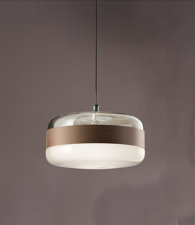 Vistosi Glass pendant lamp Futura SP G | widest model