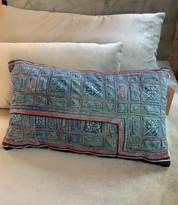 AAI Pillow Vintage Noon blue tones | 30x 50cm