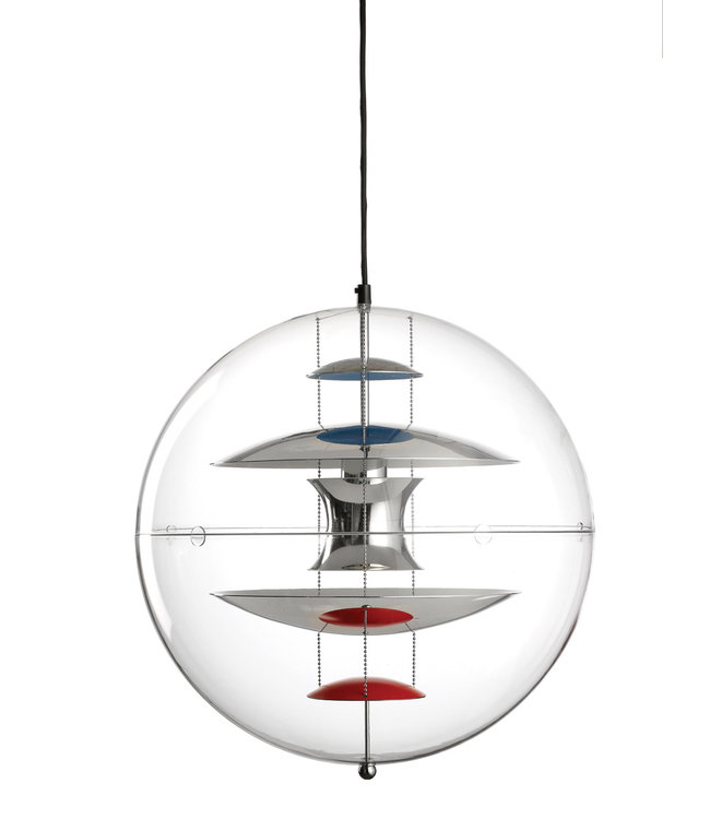 Verpan VP-Globe Hanglamp Ø 40cm of  Ø 50cm