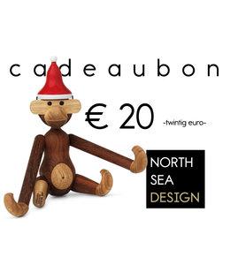 Print direct je Kerst Cadeaubon! € 20