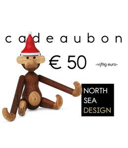 Print direct je Kerst Cadeaubon! € 50
